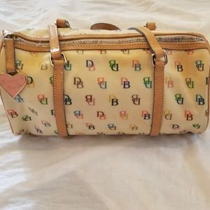Vintage dooney and bourke shoulder bag Multi color